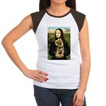 Mona & Border Terri Women's Cap Sleeve T-Shirt