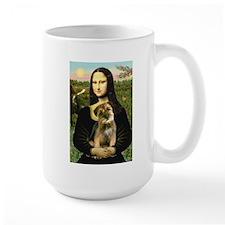 Mona & Border Terri Mug