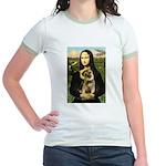 Mona & Border Terri Jr. Ringer T-Shirt