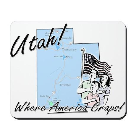 Utah! Mousepad