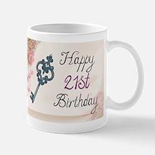 Happy 21st Birthday (Vintage) Mugs