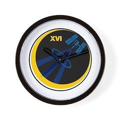NASA Expedition 16 Wall Clock