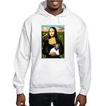 Mona & Fox Terrier Hooded Sweatshirt