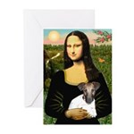 Mona & Fox Terrier Greeting Cards (Pk of 20)