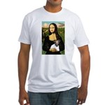 Mona & Fox Terrier Fitted T-Shirt