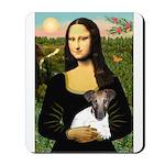 Mona & Fox Terrier Mousepad