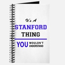 STANFORD thing, you wouldn't understand! Journal