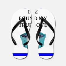 blueberries Flip Flops