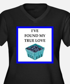 blueberries Plus Size T-Shirt