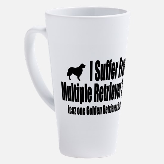 Cute Golden retriever 17 oz Latte Mug