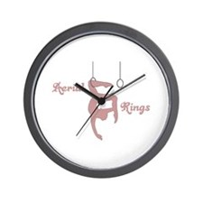 Aerial Rings Wall Clock