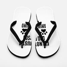 I'm an American Eskimo Dog Daddy Flip Flops
