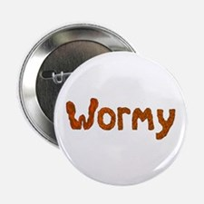 """Wormy 2.25"""" Button (10 pack)"""