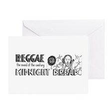 Midnight Dread 2 Greeting Cards (Pk of 10)