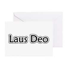 """""""Laus Deo"""" Greeting Cards (Pk of 20)"""
