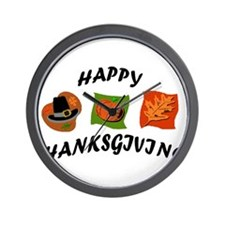 Cool Thanks giving Wall Clock