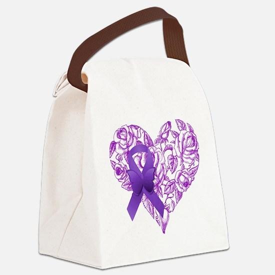 Unique Epilepsy Canvas Lunch Bag