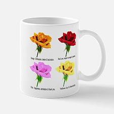 Rose Meanings-2 Mug