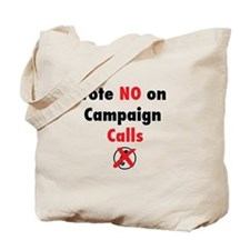 Cute Vote no on romney Tote Bag