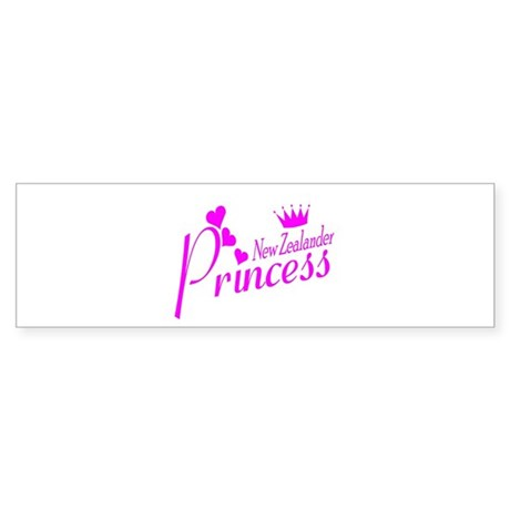 New Zealand Princess Bumper Sticker