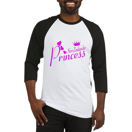 New Zealand Princess Baseball Jersey