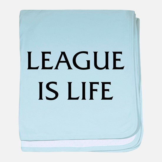 League Is Life baby blanket