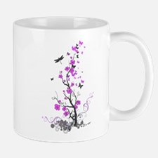 Flowers and Butterfliez Mugs