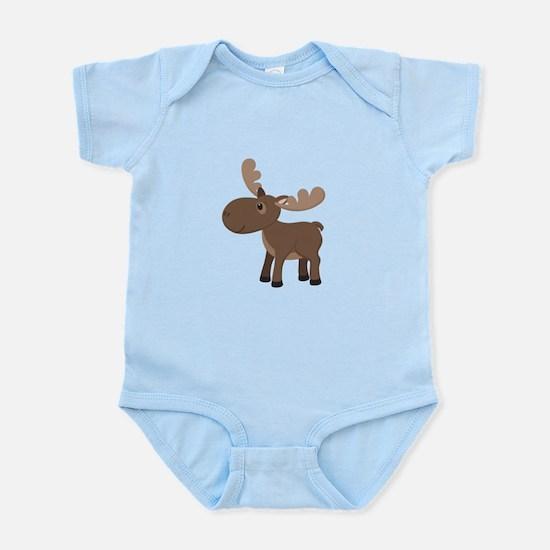 Cartoon Moose Body Suit