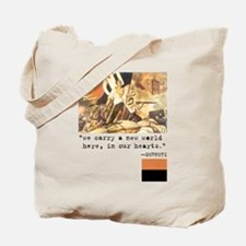 Anarchist Hero Tote Bag
