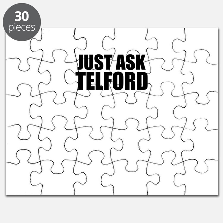 Just ask TELFORD Puzzle