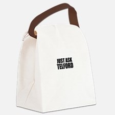 Just ask TELFORD Canvas Lunch Bag