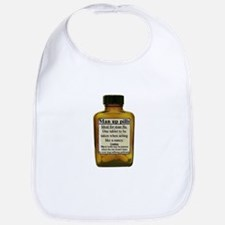 Man Up Pills Baby Bib