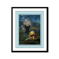 Soldier of the Lord (Modern Man) 9x12 Framed Print