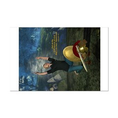 Soldier of the Lord (Modern Man)11x14 Poster Print