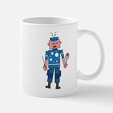 Robot man Mugs