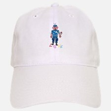 Robot love Baseball Baseball Cap