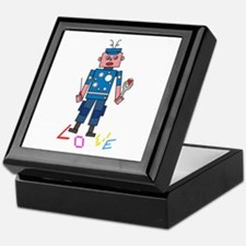Robot love Keepsake Box