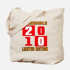 Incredible 2010 Limited Edition Tote Bag