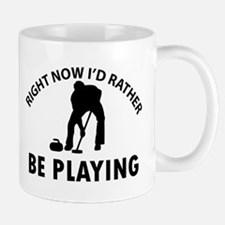 I'd Rather Be Playing Curling Mug