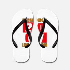 Incredible 2007 Limited Edition Flip Flops