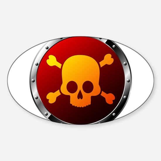 Danger Signs Decal