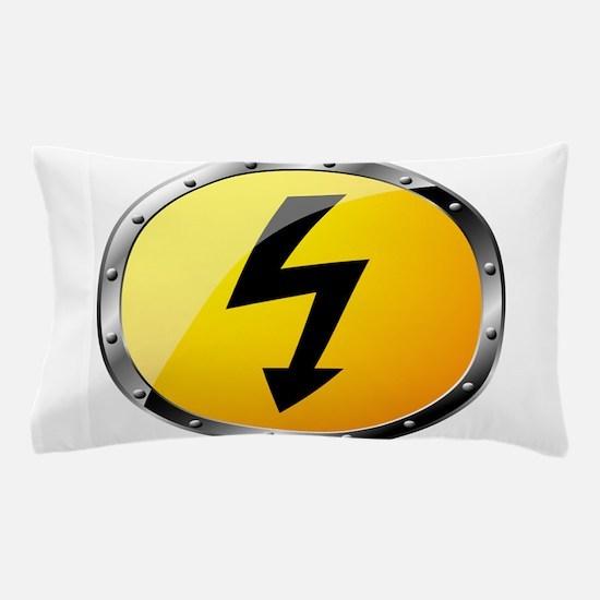 Danger Signs Pillow Case