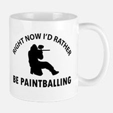 I'd Rather Be Playing Paintball Mug