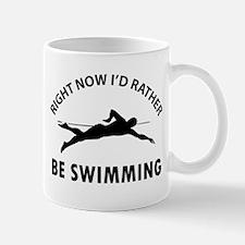I'd Rather Be Playing Swimming Mug