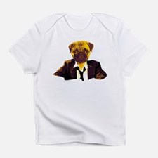 Pug at work Infant T-Shirt