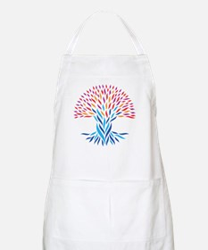 Psychedelic tree Apron