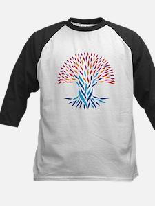 Psychedelic tree Baseball Jersey