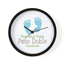 Paso Doble Ballroom Dancing Wall Clock