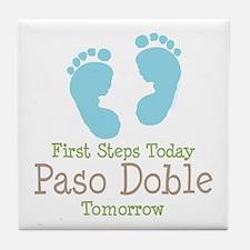 Paso Doble Ballroom Dancing Tile Coaster