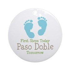 Paso Doble Ballroom Dancing Ornament (Round)